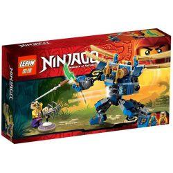 Lepin 06009 Bela 10317 Sheng Yuan 331 SY331 Lele 79091 (NOT Lego Ninjago Movie 70754 Electromech ) Xếp hình Rô Bốt Điện Quang 154 khối