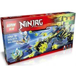 Lepin 06012 Bela 10395 Sheng Yuan 386 SY386 Lele 79118 (NOT Lego Ninjago Movie 70730 Chain Cycle Ambush ) Xếp hình Phục Kích Xe Máy Xích 323 khối