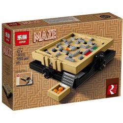 Lepin 16023 Lele 39000 (NOT Lego Ideas 21305 Maze ) Xếp hình Mê Cung Bóng 769 khối