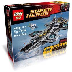 NOT Lego MARVEL SUPER HEROES 76042 The SHIELD Helicarrier, Decool 7100 Jisi 7100 KING 87025 LELE 34000 LEPIN 07043 LION KING 180081 SHENG YUAN SY 1189 SY911 WHITE BOX 64054 68000 Xếp hình Tàu Bay Khổn