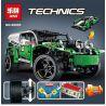 Decool 3364 Lepin 20003 20003B Lele 38017 (NOT Lego Technic 42039 24 Hours Race Car ) Xếp hình Xe Đua 24 Giờ Có Động Cơ Pin 1249 khối