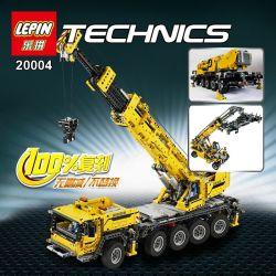 NOT Lego TECHNIC 42009 Mobile Crane MK II , KING 90004 LEPIN 20004 LION KING 180096 Xếp hình Cần Trục Tự Hành 2606 khối có động cơ pin