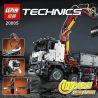 Lepin 20005 King 90005 (NOT Lego Technic 42043 Mercedes-Benz Arocs 3245 ) Xếp hình Xe Tải Có Cần Cẩu Động Cơ Pin 2793 khối