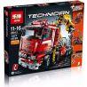 Lepin 20013 (NOT Lego Technic 8258 Crane Truck ) Xếp hình Xe Tải Có Cần Cẩu Nhỏ Động Cơ Pin 1877 khối