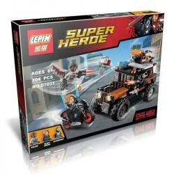 Decool 7121 Jisi 7121 LEPIN 07031 SHENG YUAN SY 582 SY582 Xếp hình kiểu Lego MARVEL SUPER HEROES Crossbones' Hazard Heist Cross Bone Adventure Robbery Plan Vụ Cướp Mạo Hiểm 179 khối