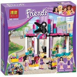 Bela 10539 Lari 10539 LELE 79162 SHENG YUAN SY 378 SY378 Xếp hình kiểu Lego FRIENDS Heartlake Hair Salon Xinhu City Hairdressing Salon Salon Làm Tóc 318 khối