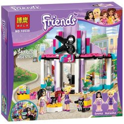NOT Lego FRIENDS 41093 Heartlake Hair Salon, Bela 10539 Lari 10539 LELE 79162 SHENG YUAN SY 378 SY378 Xếp hình Salon Làm Tóc 318 khối