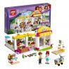 Bela 10494 Lepin 01001 Lele 37012 (NOT Lego Friends 41118 Heartlake Supermarket ) Xếp hình Siêu Thị Hồ Trái Tim 318 khối