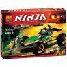 Lepin 06010 Bela 10320 Sheng Yuan 332 SY332 (NOT Lego Ninjago Movie 70755 Jungle Raider ) Xếp hình Xe Địa Hình Đi Rừng 202 khối
