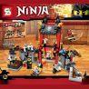 Lepin 06034 Bela 10522 Sheng Yuan 596 SY596 (NOT Lego Ninjago Movie 70591 Kryptarium Prison Breakout ) Xếp hình Cuộc Vượt Ngục Tại Nhà Tù Kryptarium 262 khối