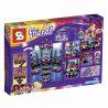 Bela 10406 Sheng Yuan 380 SY380 (NOT Lego Friends 41105 Pop Star Show Stage ) Xếp hình Sân Khấu Biểu Diễn Của Siêu Sao Nhạc Pop 448 khối