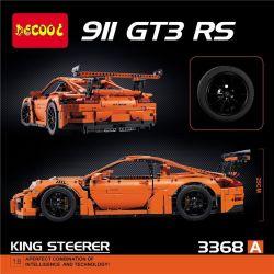 NOT Lego TECHNIC 42056 Porsche 911 GT3 RS, Bela 10570 Lari 10570 BOZHI 20000 DECOOL 3368 3368A 3368B 3368C LELE 38004 LEPIN 20001 20001B 20001C LIN07 0015 LION KING 180094 YILE 911A Xếp hình Siêu Xe T