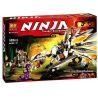 Lepin 06004 Bela 10323 Sheng Yuan 338 SY338 Lele 79111 (NOT Lego Ninjago Movie 70748 Titanium Dragon ) Xếp hình Rồng Titan Của Zane 360 khối