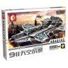 Lepin 07043 Lele 34000 Sheng Yuan 911 SY911 1189 SY1189 (NOT Lego Marvel Super Heroes 76042 The Shield Helicarrier ) Xếp hình Tàu Bay Khổng Lồ Của Shield gồm 2 hộp nhỏ 3057 khối