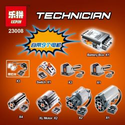 NOT LEGO Technic MOC-1389 Wing Body Truck, Lepin 23008 MouldKing 13139 Qizhile 23025 Rebrickable MOC-1389 Xếp hình Xe Tải Có Cánh 4128 khối điều khiển từ xa