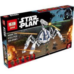 Lepin 05081 (NOT Lego Star wars 75013 Umbaran Mhc (Mobile Heavy Cannon) ) Xếp hình Siêu Đại Bác Di Động 4123 khối