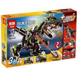 NOT Lego CREATOR 4958 Monster Dino Mechanical Dinosaur , LEPIN 24010 Xếp hình Quái Vật Khủng Long 792 khối điều khiển từ xa