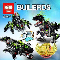 LEPIN 24010 Xếp hình kiểu Lego CREATOR Monster Dino Mechanical Dinosaur Quái Vật Khủng Long 792 khối điều khiển từ xa