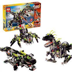 NOT Lego CREATOR 4958 Monster Dino, LEPIN 24010 Xếp hình Quái Vật Khủng Long 792 khối điều khiển từ xa