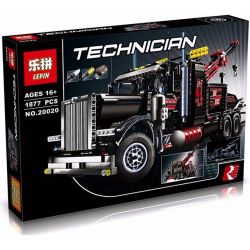 NOT Lego TECHNIC 8285 Tow Truck Trail Truck , LEPIN 20020 Xếp hình Xe đầu Kéo 1877 khối