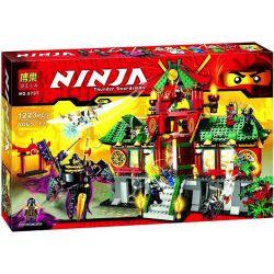 Bela 9797 (NOT Lego Ninjago Movie 70728 Battle For Ninjago City ) Xếp hình Trận Chiến Thành Phố Ninjago 1223 khối