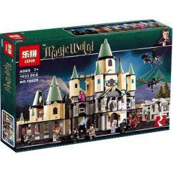 Lepin 16029 Lele 39158 (NOT Lego Harry Potter 5378 Hogwarts Castle ) Xếp hình Lâu Đài Hogwarts 1033 khối