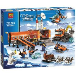 Bela 10442 (NOT Lego City 60036 Arctic Base Camp ) Xếp hình Trại Bắc Cực 783 khối
