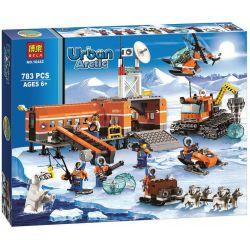 NOT Lego CITY 60036 Arctic Base Camp Arctic Base Base , Bela 10442 Lari 10442 Xếp hình Trại Bắc Cực 733 khối