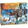 Bela 10297 Lepin 04010 (NOT Lego Legends of Chima 70145 Maula's Ice Mammoth Stomper ) Xếp hình Rô Bốt Voi Ma Mút Băng Của Maula 604 khối