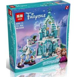 Bela 10664 Lari 10664 Decool 70217 Jisi 70217 LELE 37016 LEPIN 25002 LEZI 97019 QUEEN 85002 SHENG YUAN SY SY868 SX 3016 Xếp hình kiểu Lego DISNEY PRINCESS Elsa's Magical Ice Palace Elsa's Ice Palace I