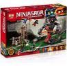 Lepin 06042 Bela 10583 (NOT Lego Ninjago Movie 70626 Dawn Of Iron Doom ) Xếp hình Đại Chiến Rắn Khổng Lồ 734 khối