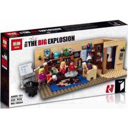 BLANK 20013 LEPIN 16024 XD 2023 XINH X0125 0125 Xếp hình kiểu Lego IDEAS The Big Bang Theory Lý Thuyết Big Bang 484 khối