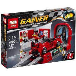 Bela 10781 Lari 10781 LEPIN 28005 SHENG YUAN SY 6786 WANGAO 7004 WANGE DR.LUCK 2876 S76 Xếp hình kiểu Lego SPEED CHAMPIONS Ferrari FXX K & Development Center Ferrari FXX K And R & D Center Trung Tâm P