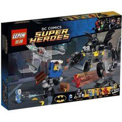 Lepin 07006 Sheng Yuan 353 SY353 (NOT Lego DC Comics Super Heroes 76026 Gorilla Grodd Goes Bananas ) Xếp hình Vây Hãm Khỉ Đột 347 khối