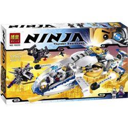Bela 10223 (NOT Lego Ninjago Movie 70724 Ninjacopter ) Xếp hình Phi Thuyền Lên Thẳng Của Ninja 516 khối