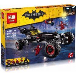 Lepin 07045 Decool 7126 Sheng Yuan 873 SY873 Bela 10634 (NOT Lego Batman Movie 70905 The Batmobile ) Xếp hình Xe Ô Tô Batmobile Của Người Dơi 581 khối