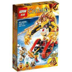 Bela 10295 Lari 10295 LEPIN 04009 Xếp hình kiểu Lego LEGENDS OF CHIMA Laval's Fire Lion Qigong Legend Invincible Lion Flame Gold Lion Bow Sư Tử Lửa Của Laval 450 khối