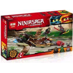 Bela 10581 Lari 10581 LEPIN 06045 SHENG YUAN SY 858 SY858 Xếp hình kiểu THE LEGO NINJAGO MOVIE Destiny's Shadow Flying Number Of Fate Thuyền Bóng định Mệnh 360 khối