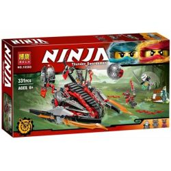 Bela 10580 Lepin 06044 (NOT Lego Ninjago Movie 70624 Vermillion Invader ) Xếp hình Vermillion Invader 331 khối