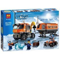 Bela 10440 (NOT Lego City 60035 Arctic Outpost ) Xếp hình Tiền Đồn Vùng Cực 394 khối