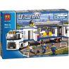 Bela 10420 (NOT Lego City 60044 Mobile Police Unit ) Xếp hình Đơn Vị Cảnh Sát Di Động 394 khối