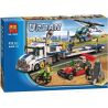 Bela 10422 (NOT Lego City 60049 Helicopter Transporter ) Xếp hình Trực Thăng Vận Tải 410 khối