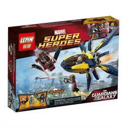 Bela 10248 Lari 10248 LEPIN 07011 Xếp hình kiểu Lego MARVEL SUPER HEROES Starblaster Showdown Galaxy Guards Star Explosion Siêu Anh Hùng Cuộc đấu Giữa Galaxy Guard Và Starburst 196 khối