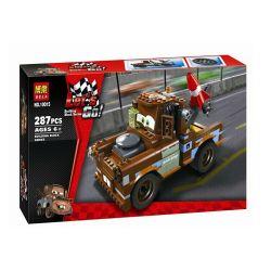 Bela 10015 Lari 10015 Xếp hình kiểu Lego CARS Ultimate Build Mater Racing Mobilization Ultimate Star Broth Cần Dịch 288 khối