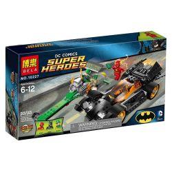 Bela 10227 Lari 10227 SHENG YUAN SY SY318 Xếp hình kiểu Lego DC COMICS SUPER HEROES Batman The Riddler Chase Chase Riddle Batman Riddler Chase 304 khối