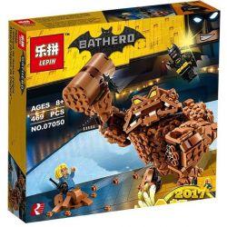 Lepin 07050 Sheng Yuan 870 SY870 Bela 10632 (NOT Lego Batman Movie 70904 Clayface Splat Attack ) Xếp hình Tấn Công Quái Vật Đất Đá 469 khối