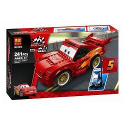 NOT Lego CARS 8484 Ultimate Build Lightning McQueen Racing Story Ultimate Star Lightning McQue , Bela 10016 Lari 10016 SHENG YUAN SY SY935 Xếp hình Xe đua Lightning McQueen 242 khối