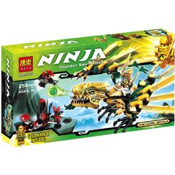 Bela 9793 Lele 79112 (NOT Lego Ninjago Movie 70503 The Golden Dragon ) Xếp hình Rồng Vàng 258 khối