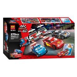 Bela 10012 Lari 10012 Xếp hình kiểu Lego CARS Ultimate Race Set Racing Mobilization McChen Ultimate Matters Cần Dịch 280 khối
