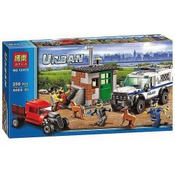 Bela 10419 (NOT Lego City 60048 Police Dog Unit ) Xếp hình Chó Cảnh Sát 250 khối